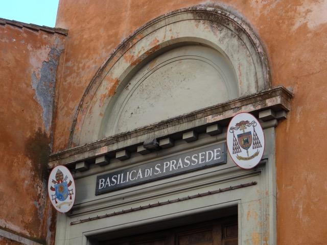 Exterior or San Prassede Basilica
