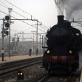 Steam train in Veneto