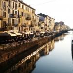 Milan, The Naviglio Grande. Pic by Flickr User Ste @stepek