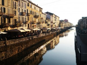 Milan, The Naviglio Grande. Pic by Flickr User Ste @stepek