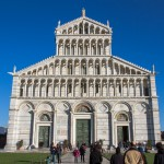 Pisa Cathedral, facade. Pic by Michele Suraci
