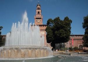 Milan, Sforza Castle