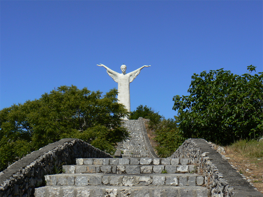 Stairway to Christ the Redeemer. Pic by Flickr User mozzercork