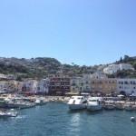 Capri's harbour