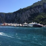 Capri's amazing sea and yachts