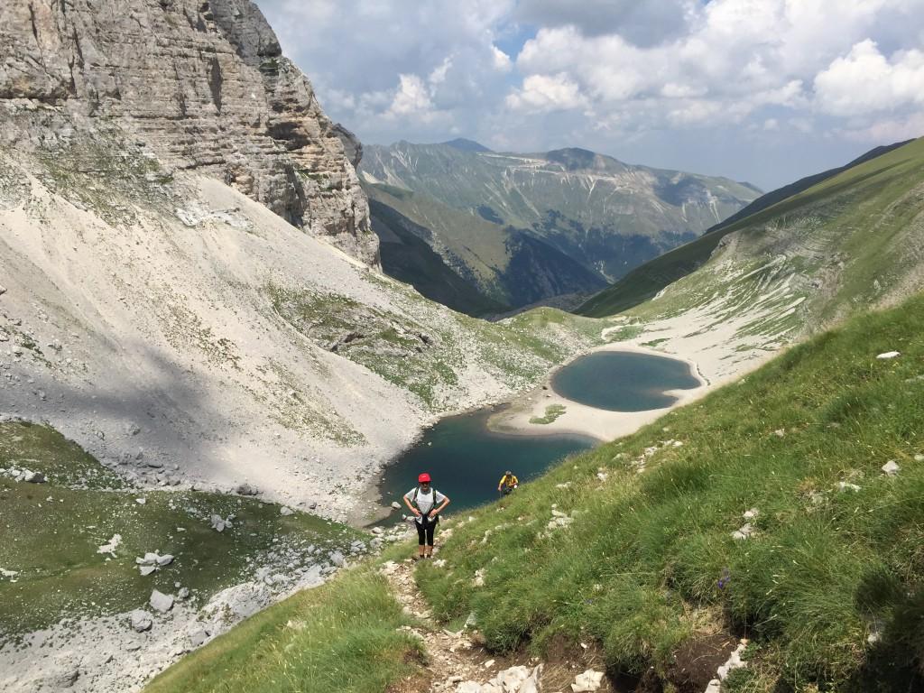 Pilato's lake view