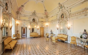 Living room in Tabiano castle