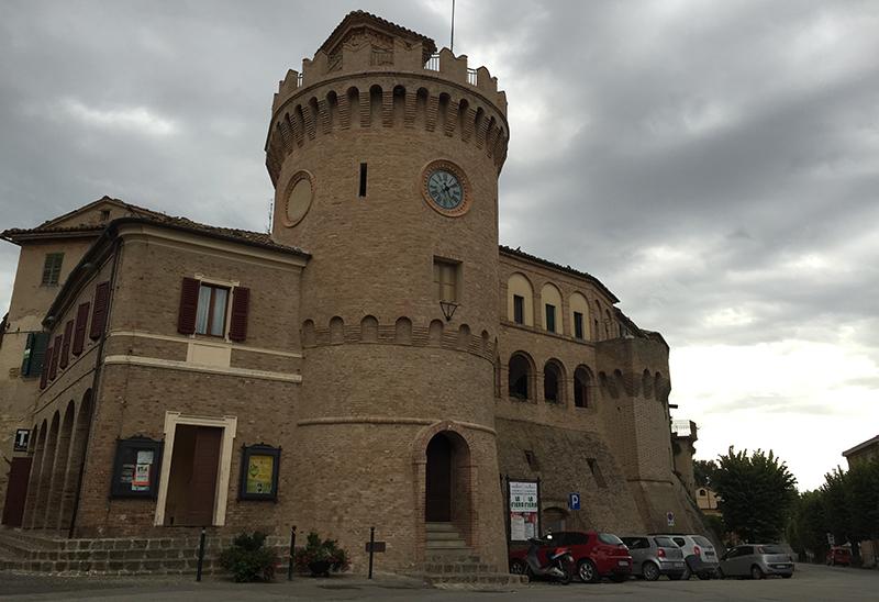 Clock Tower of Montecarotto
