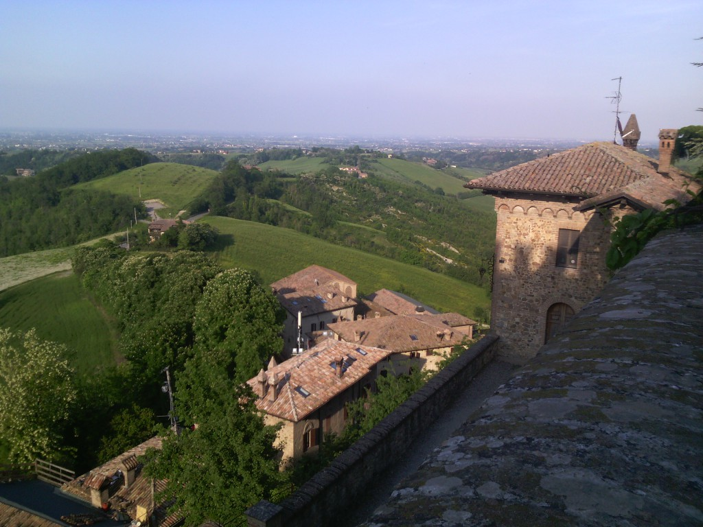 The ancient burg of Tabiano