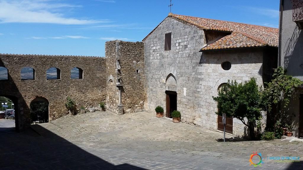 San Giorgio's church in Montemerano