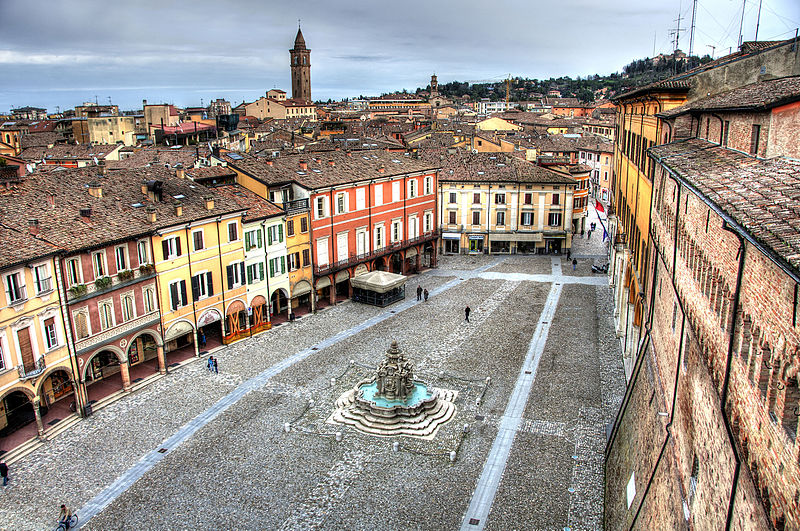 Cesena, by Wikimedia Commons
