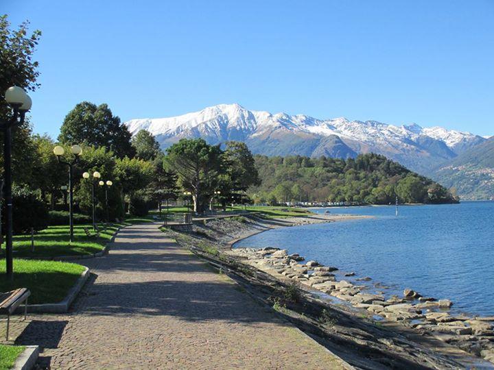 Colico - beautiful lake promenade