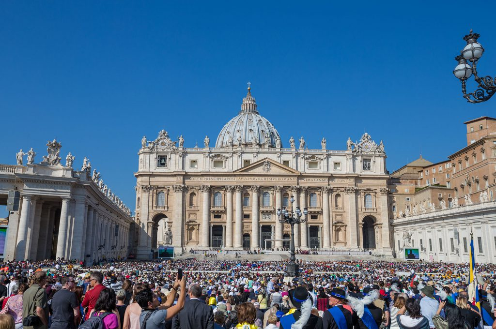 A view of the Vatican (Photo Daniel j Allen)