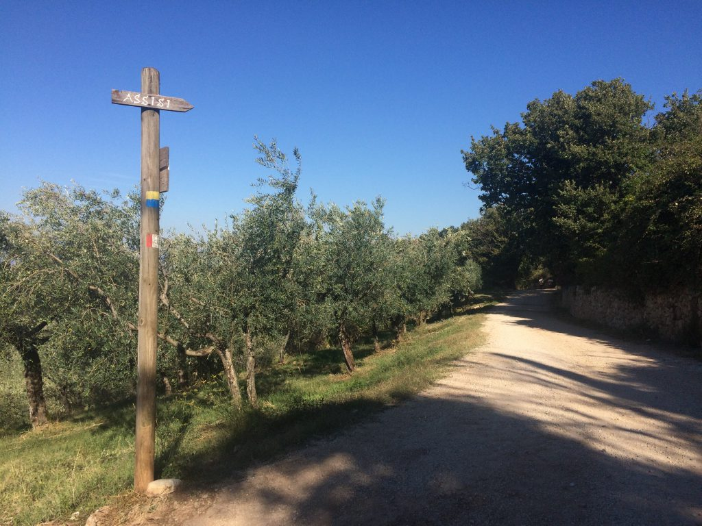 On our way to Assisi, Umbria