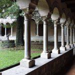 Piona Abbey - courtyard
