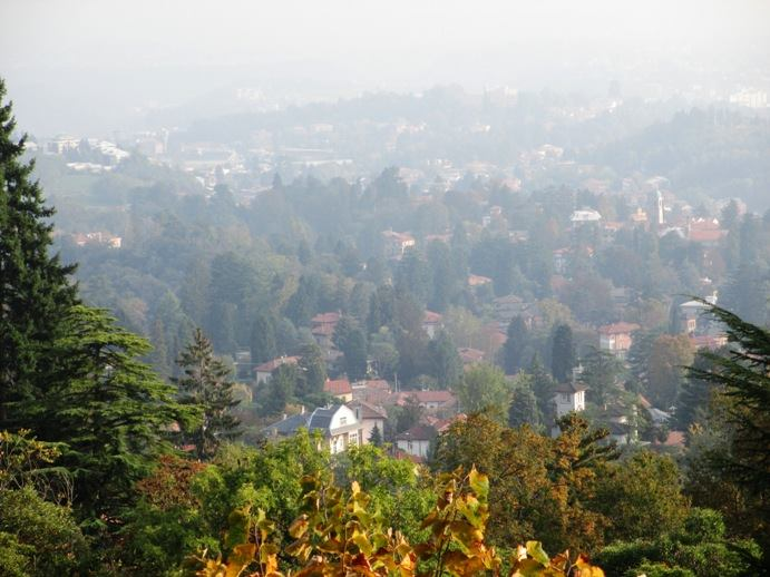 View from the Sacro Monte
