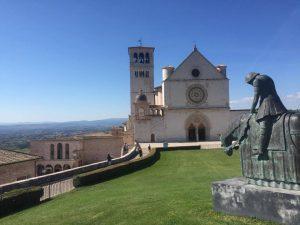 The Basilica of St Francesco d'Assisi