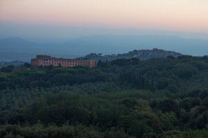 View from Villa Tuscolana (pic by Daniel J Allen)