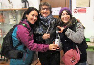 Roxana & Virginia with Maria Vittoria