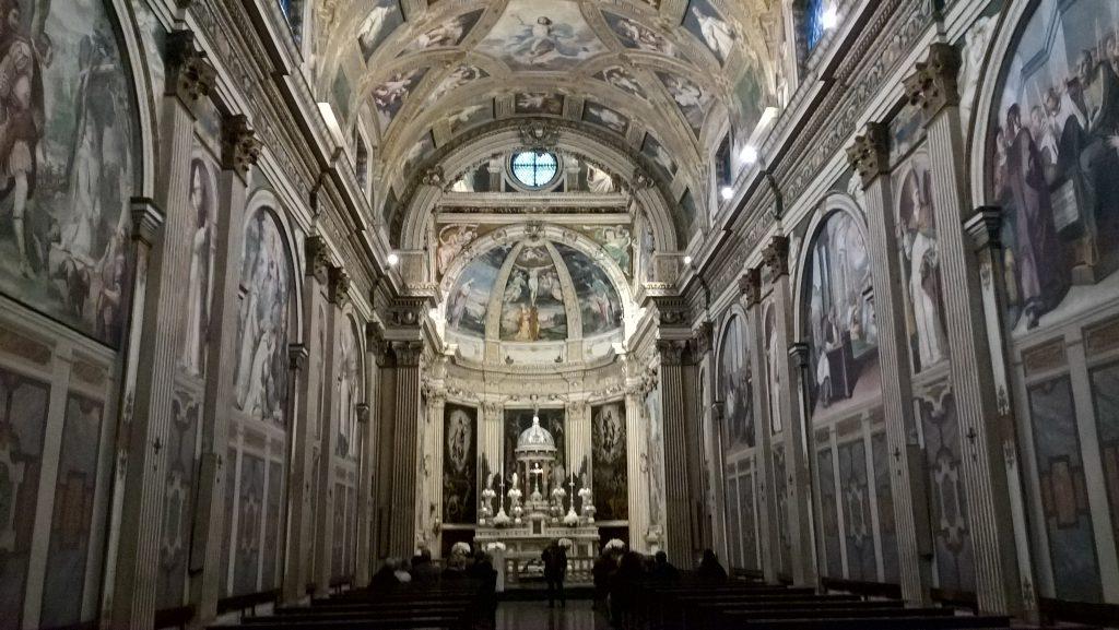 Certosa di Garegnano, interiorCertosa di Garegnano, interior (pic by Roxana Iacoban)