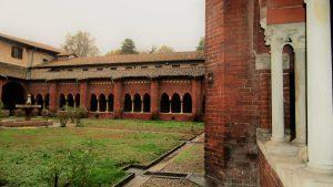 Chiaravalle Abbey, court
