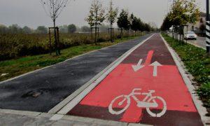 Milan bike trail