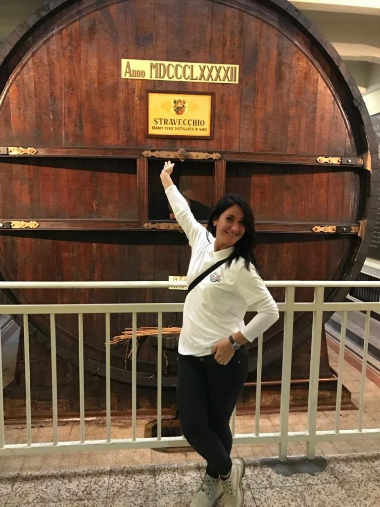 Roxana at Collezione Branca Museum