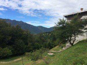 Val di Gresta landscape