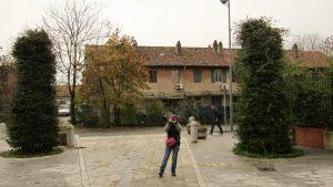 Nocetum Centre, the entrance