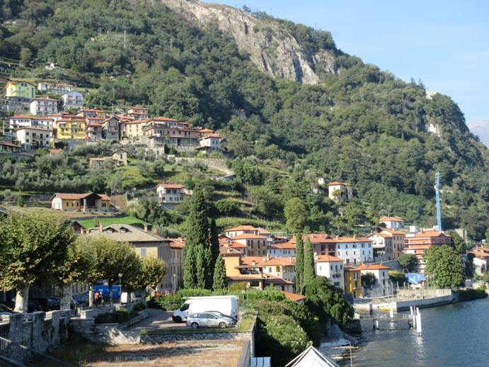 Musso - Lago di Como - foot of Mount Bregagno