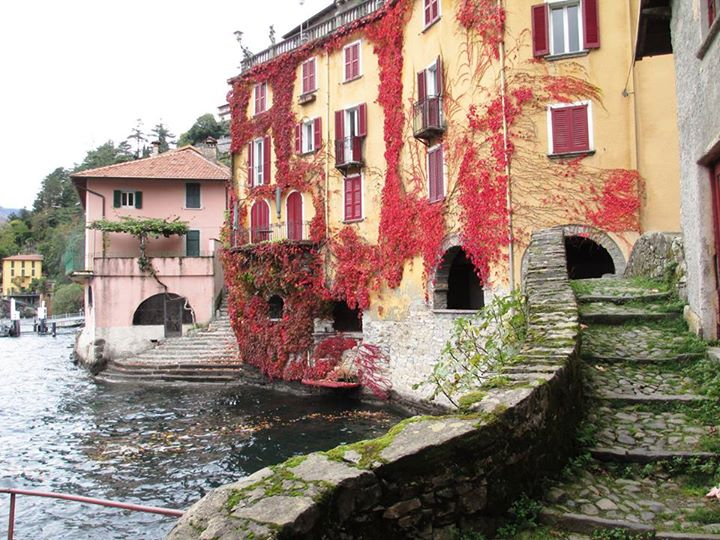Nesso - the Ponte Roma looking back toward Nesso