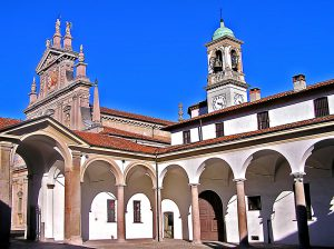 Certosa di Garegnano, view
