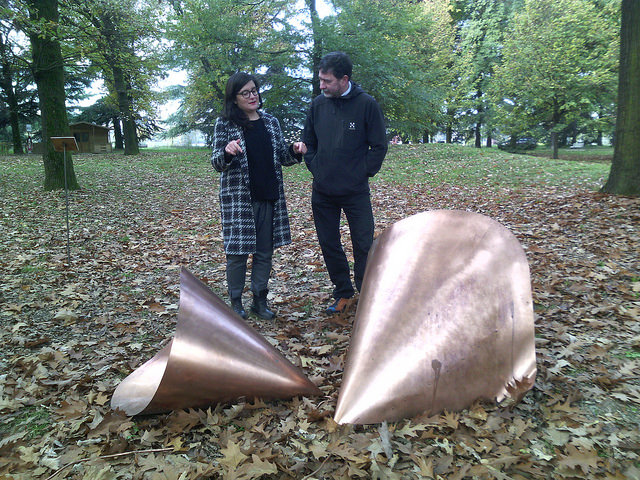 Discussing art with Valeria Manfredda