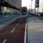 Cycle Lanes of Milan, pic by Kim Harding