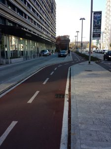 Cycle Lanes of Milan, pic by Kim Harding