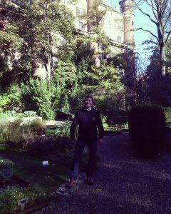 Milan: Kim at Brera Botanical Garden