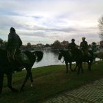 Horse trekking at Idroscalo, Milan