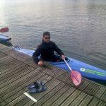 Idroscalo, Milan. Ready for some canoeing