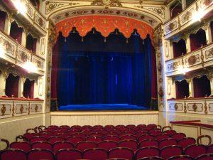 Busseto, Verdi Theatre by Tiesse (WIkimedia)