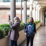 Pinacoteca Ambrosiana, Milan - courtyard