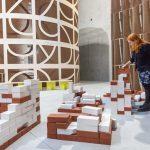 Prada foundation, Lana and the bricks