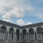 The sky over Milan, Brera Gallery, pic by Chiara Assi