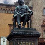 Busseto, Verdi statue by Panser Born (Wikimedia)
