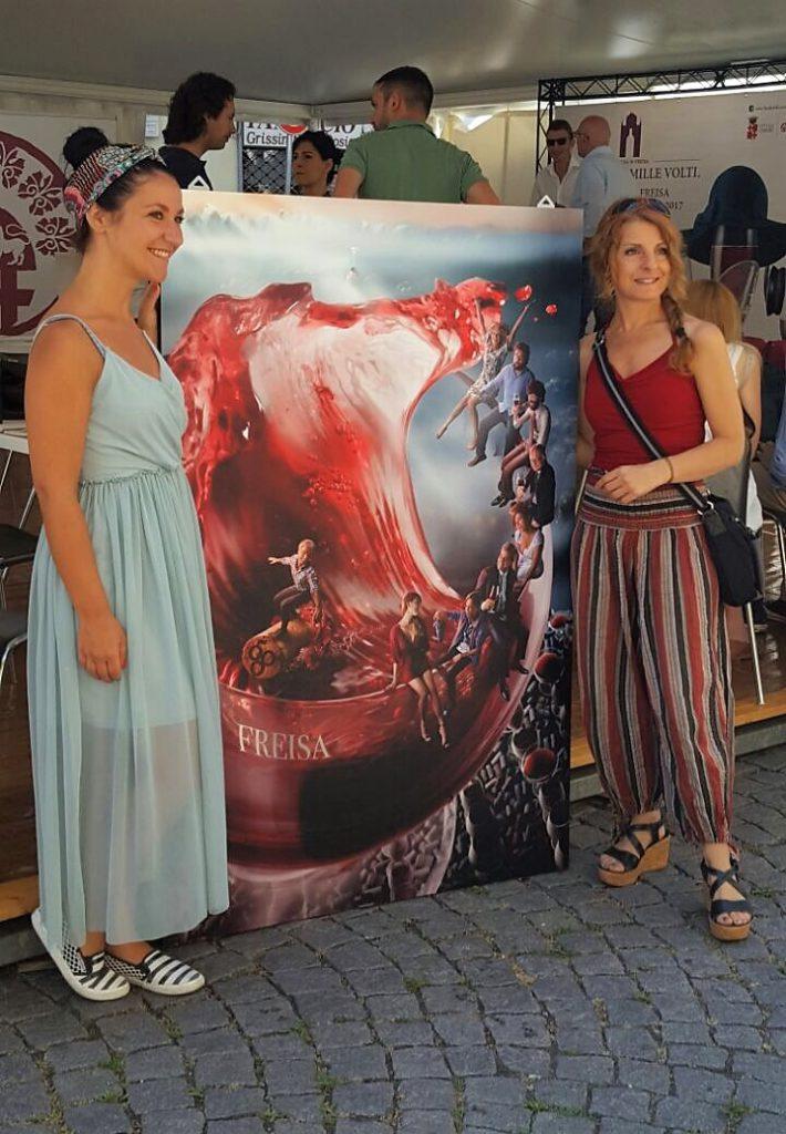 Roxana & Patrizia Piga, the artist