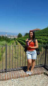 Roxana, the wine, the view