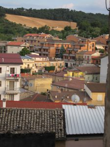 A view of Biccari