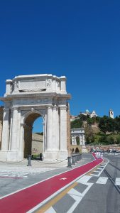 Ancona, Traiano Arch with a view