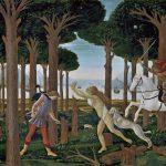 Botticelli, Nastagio degli Onesti (Prado, Madrid)