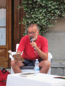 Franco Arminio reading one of his poems