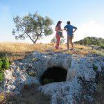 Necropolis on Monte Saraceno